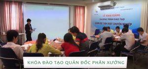 Khóa đào tạo Quản đốc phân xưởng được PMC Việt Nam