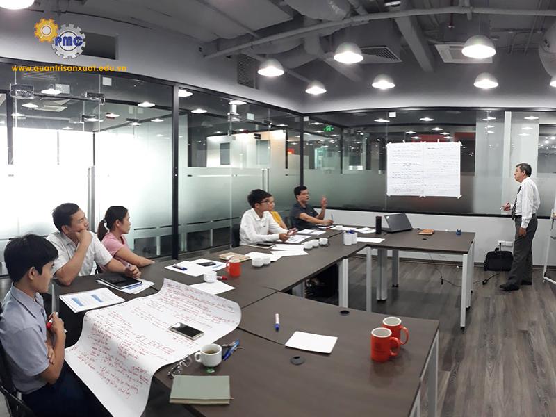 Khoá đào tạo KỸ NĂNG GIẢI QUYẾT VẤN ĐỀ TRONG SẢN XUẤT tháng 5/2020 tại Hà Nội